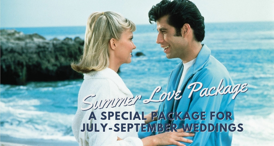 New Summer Love Wedding Package