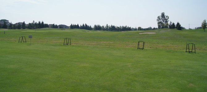 Practice Range at Northville Hills Golf Club